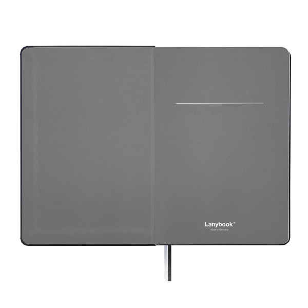 Lanybook SaffianoTouch black