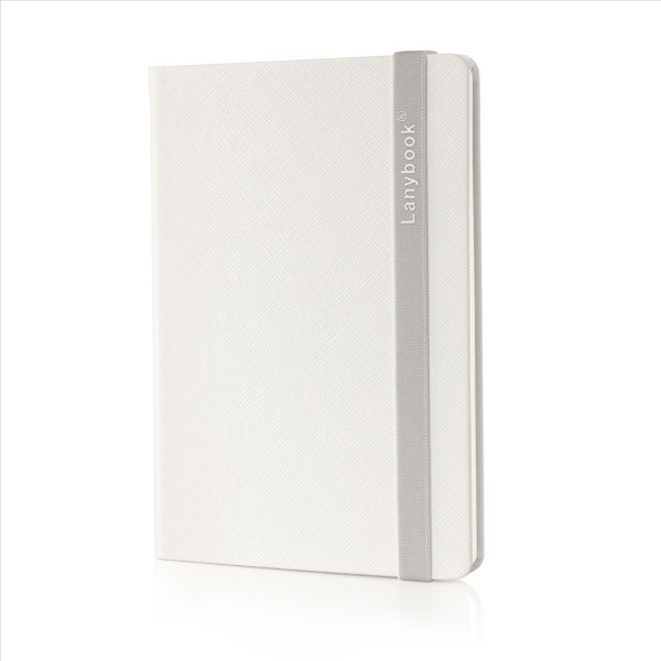 Lanybook SaffianoTouch white