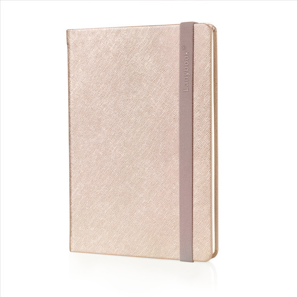 Lanybook SaffianoTouch roségold