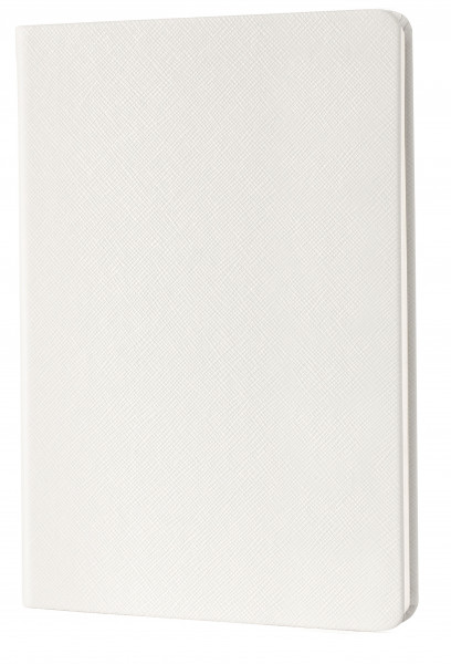 Lanybook light SaffianoTouch white